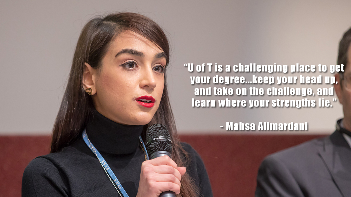 Mahsa Alimardani - Human rights officer and writer
